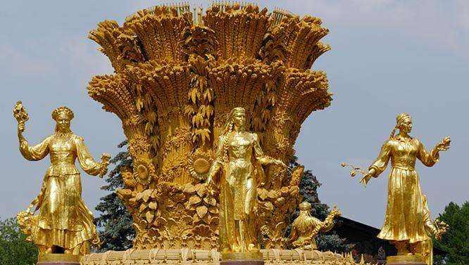 莫斯科民族友谊喷泉