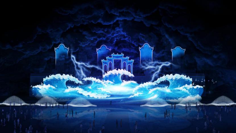 中科水景夜游研究中心将在屈原祠,用光影科技绽放《楚辞》之美